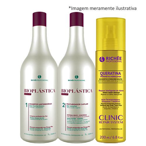 Richée Bioplastic Progressive Brush + Liquid Keratin