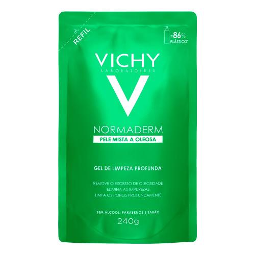 Vichy Normaderm Gel Deep Cleansing Facial Refill 240g/8.46fl.oz