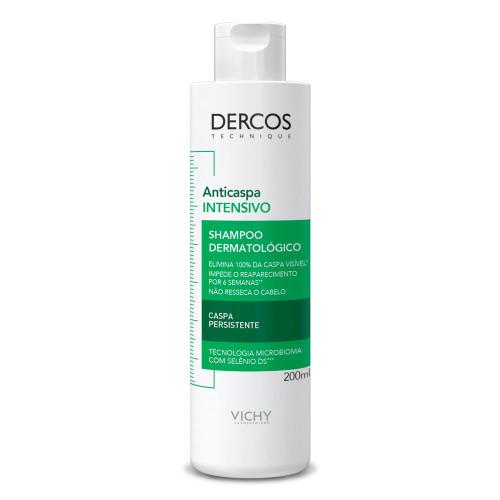 Vichy Shampoo Dercos Intensive Dandruff Anticaspa 200ml/6.76fl.oz.