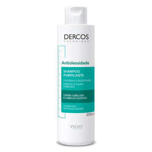 Vichy Shampoo Dercos Antioleosity Purifying Antioleosidade 200ml/6.76fl.oz.