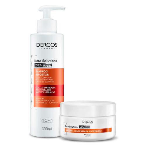 Kit Shampoo Mask Vichy Dercos Kera-Solutions 2 Products