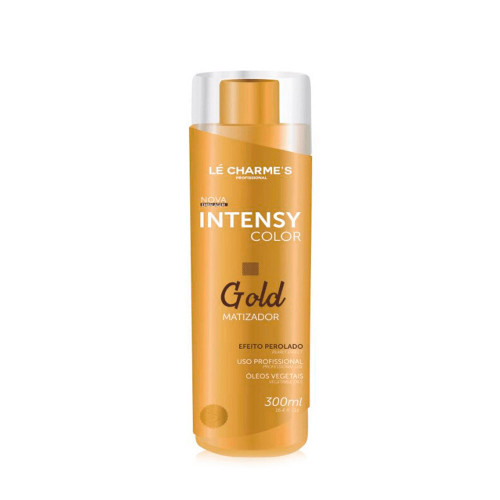 Lé Charmes Intensy Color Professional Vegetable Oils Pearl Effect Gold Hue 300ml/10.14 fl.oz