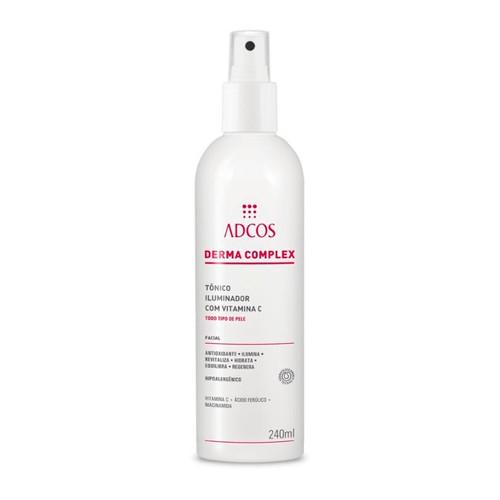 Adcos Derma Complex Vitamin C Skin Care Revitalizes Hydrates Balances Regenerates 240g/8.11 oz