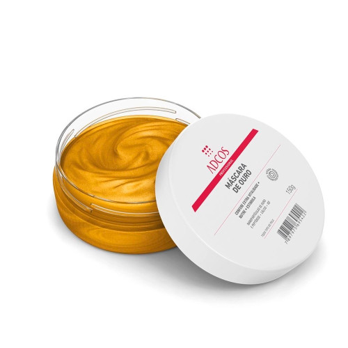 Adcos Gold Anti-Aging Mask Skin Care Collagen Production Stimulation Intensive Nutrition 150g/5.07 oz