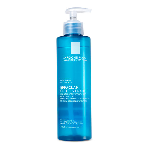 La Roche-Posay Effaclar Concentrated Anti-Oily Facial Cleansing Gel 300g/10.5 oz