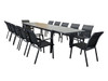 Icaria 13 Piece Outdoor Dining Setting