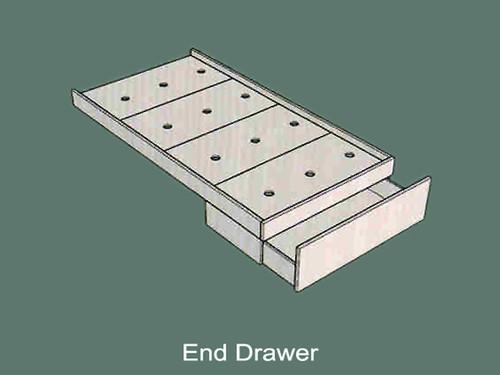 End Drawer Storage System