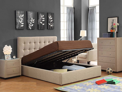 Brooklyn Double Bed with Gas Lift Storage