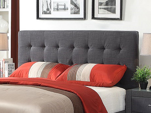 Brooklyn King Bed in Charcoal