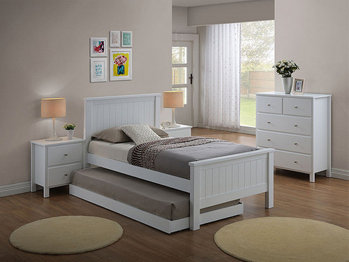 Brodie King Single Bedroom with optional Trundle
