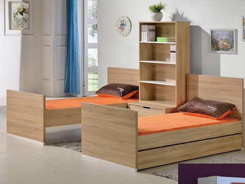 Magic bunk bed  separates into two beds
