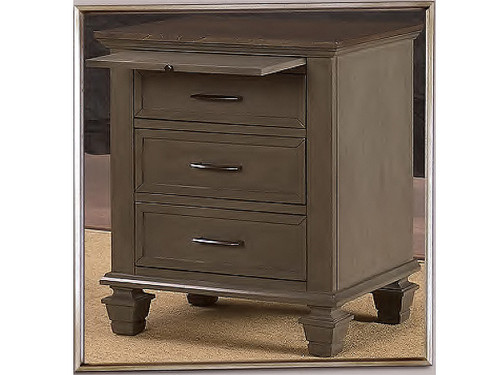 Miranda Bedside table Grey