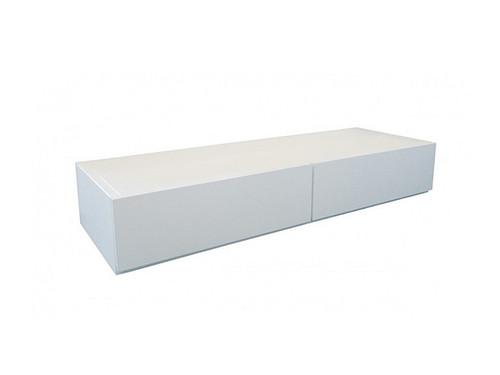 Linda Timber Storage Box White