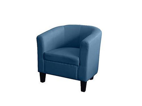 Tasman Tub Chair Blue Fabric