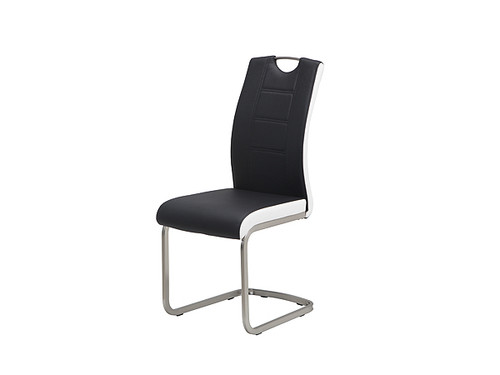 Liam Eco Leather Dining Chair in Black
