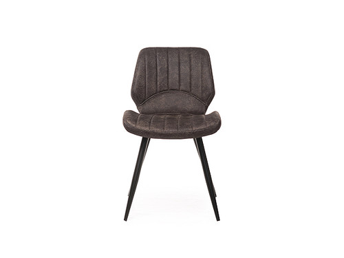 Martin Ultrasuede Fabric Dining Chair in Black