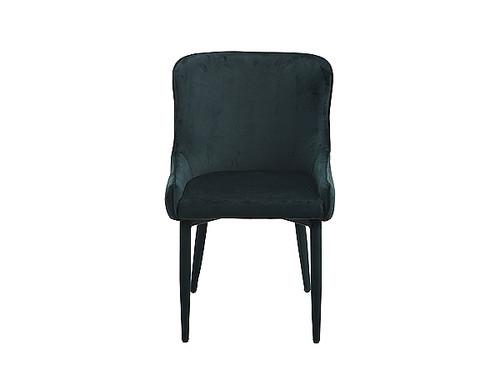 Romeo Velvet Dining Chair in Emerald