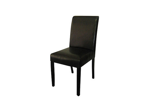 Ray PU Dining Chair in Black