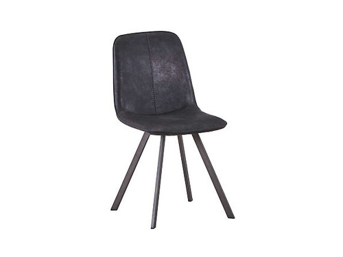 Agnes Dining Chair in Dark Grey