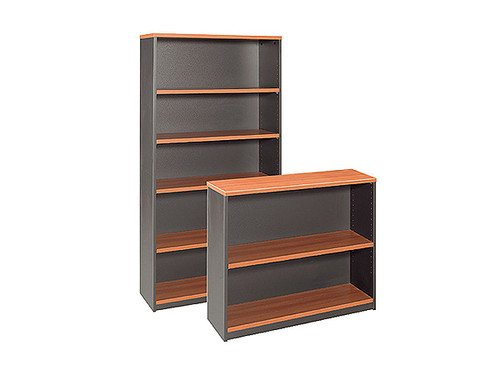 Harvard Bookcase Cherry/Charcoal 5x3