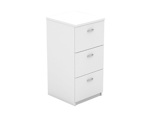 Oxford 3 Drawer Filing Cabinet White