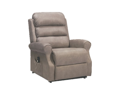 Richmond Fabric Lift Recliner Grey