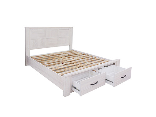 Florida King Bed with Storage Drawers