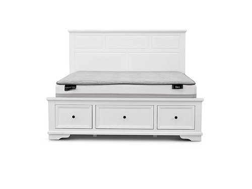 Vienna Queen Bed with Storage Drawers