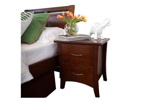 Soho Bedside table in Walnut