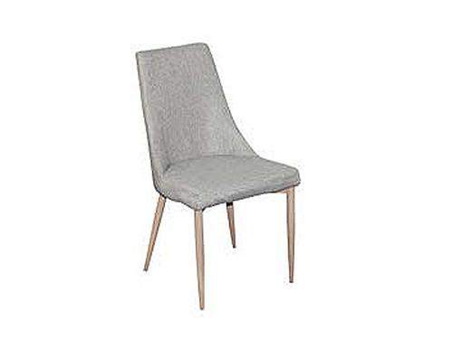 Maddison Fabric Dining Chair Light Beige
