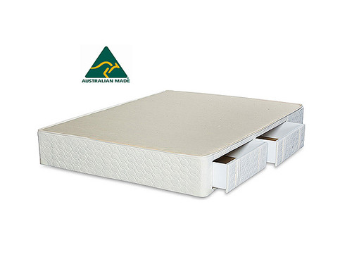 Dreamtime King Single Mattress Base with Drawers