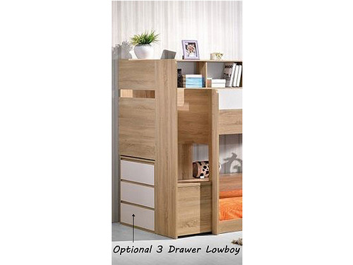 Zegna optional 3 drawers lowboy