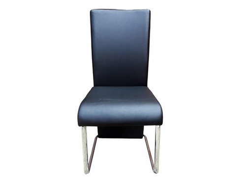 Oakland PU Dining Chair in Black