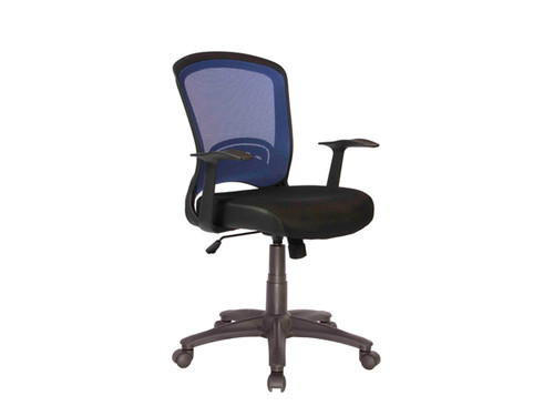 Intro Mesh Office Chair Blue