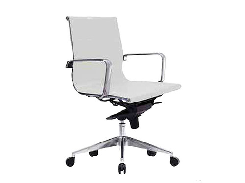Web Executive Office Chair Low Back in White