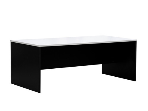 Oxford Desk W1500xD750xH720 in White/Charcoal