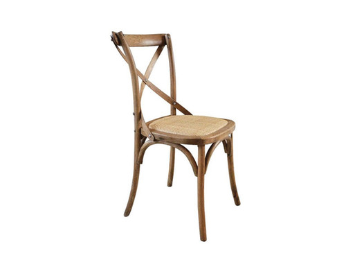 Barista Cross Back Dining Chair in Oak