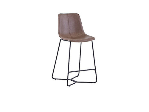 Stanwell Bar Stool in Brown