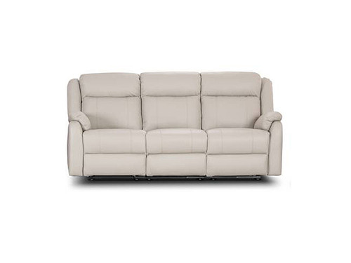 Paramount Leather 3 Seater with End Recliners
