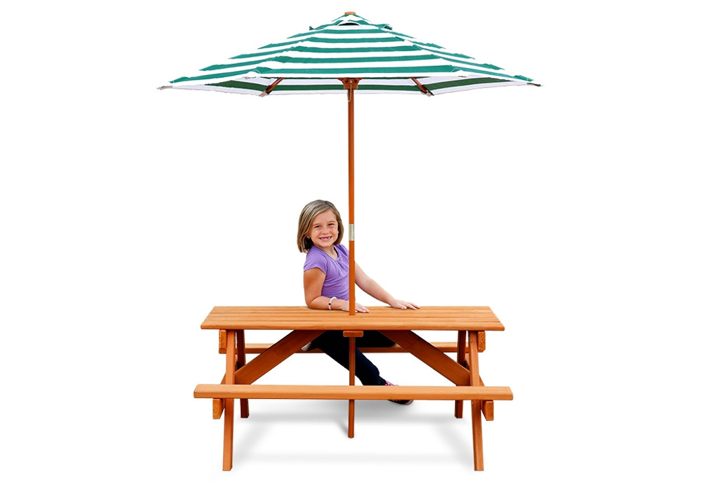 Sturdy Wooden Children S Picnic Table At Gorillaplaysets Com