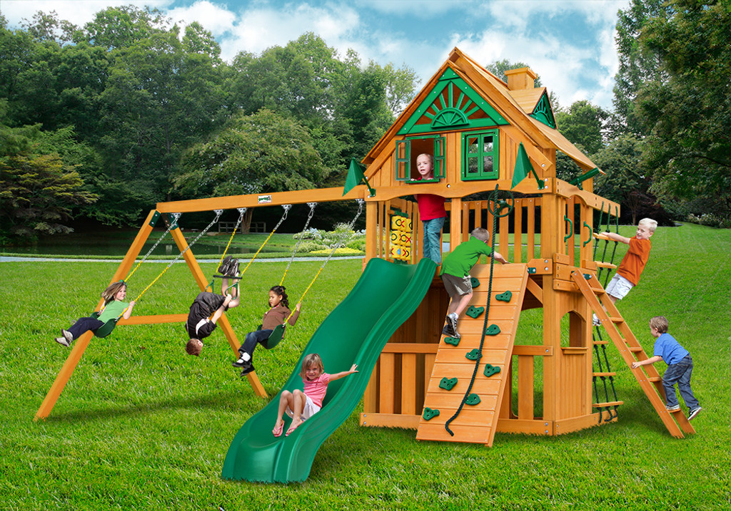 Chateau Clubhouse Wood Swingset Parts And Accessories For Playsets