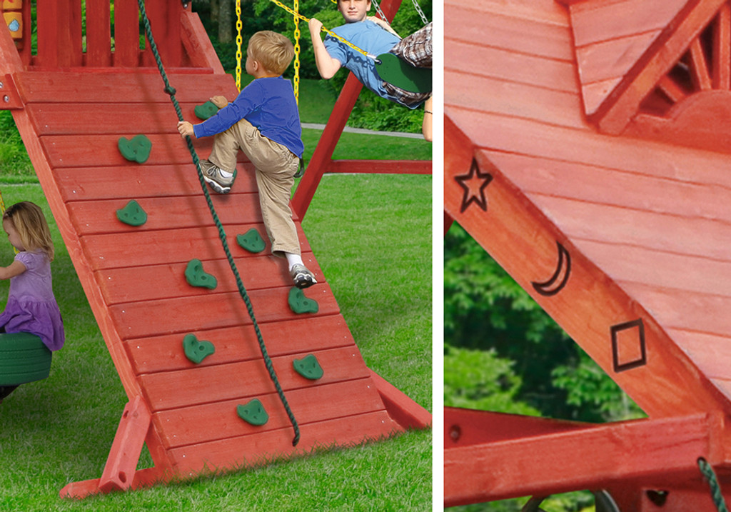 Sun Palace I Play Set Accessories For Wooden Swingsets