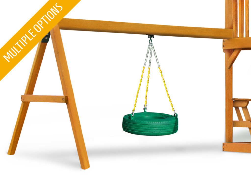 Tire Swing Beam Add On Swing Set Add Ons And Accessories