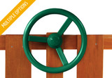 Studio view of steering wheel from Gorilla Playsets.