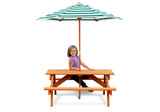 Children's picnic table by Gorilla Playsets.