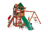 Studio shot of Five Star II Playset from Gorilla Playsets