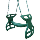 Studio shot of Double Glider Swing from Gorilla Playsets.