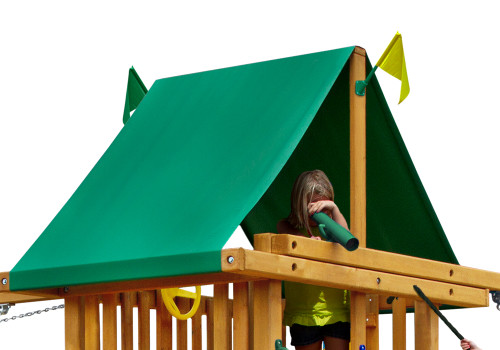 Picnic Table Wooden Replacement Umbrella Gorilla Playsets