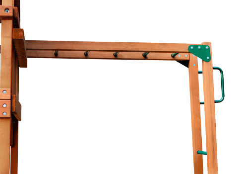 Studio shot of Monkey Bars Add-On from Gorilla Playsets.