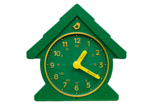 Studio view of Fun Time Clock from Gorilla Playsets.